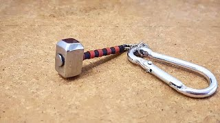 How To Make Thor's Hammer - Mjolnir Keychain
