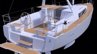 Oceanis 38 - 3D View - By Beneteau