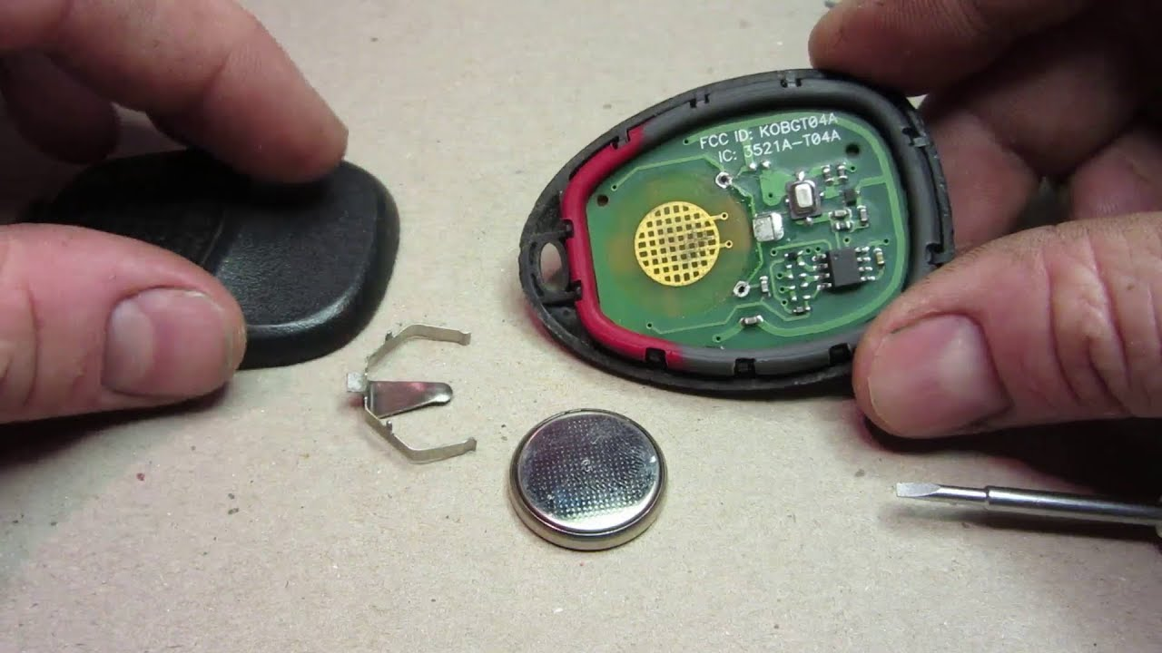 GM Key Fob Keyless Remote Repair