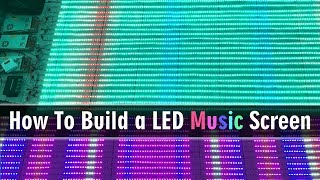 How To Series Connection 164' addressable Music LED Strip Pixel Screen - Parallel control
