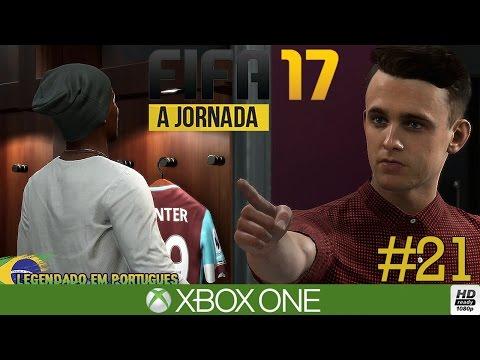 """FIFA 17 MODO HISTÓRIA #21 VOLTAMOS PARA PREMIERE LEAGUE E WALKER BABACA (Português-BR) """"A JORNADA"""""""