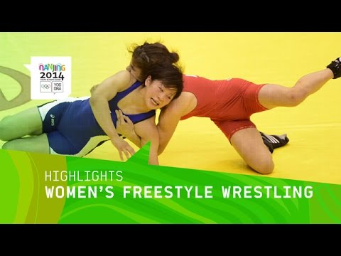 Wrestling gold highlights nanjing 2014 youth olympic games