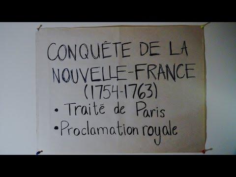 1763 - Guerre des 7 ans, Traité de Paris & Proclamation Royale