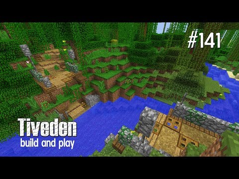 Minecraft Build & Play - Tiveden #141 - Path To The Battle Arena