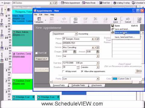 Medical Scheduling Software Intro Youtube