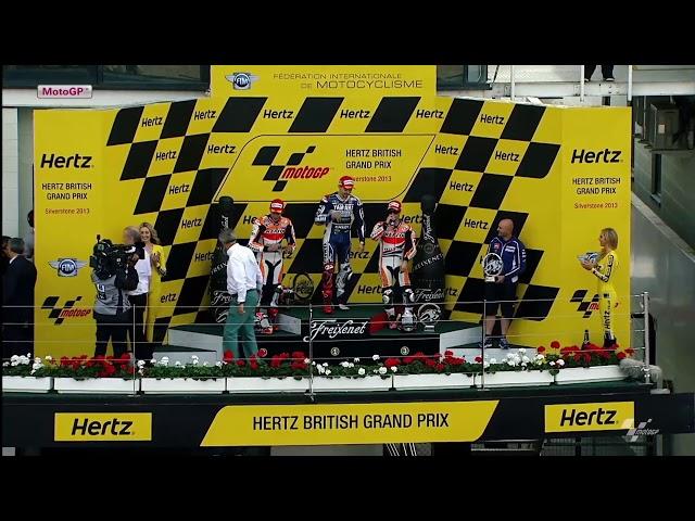 2013 #BritishGP | Full MotoGP Race
