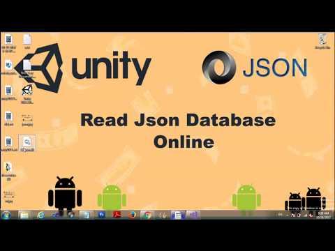 tutorial  Unity : Read Json Online