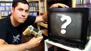Peut-on jouer à la PS4 sur une télé CATHODIQUE ?