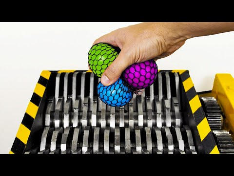 Shredding Stress Balls and Other Toys!