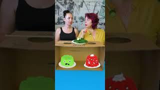 OMG what do they eat? #shorts Funny Tiktok Food Challenge by Tiktoriki