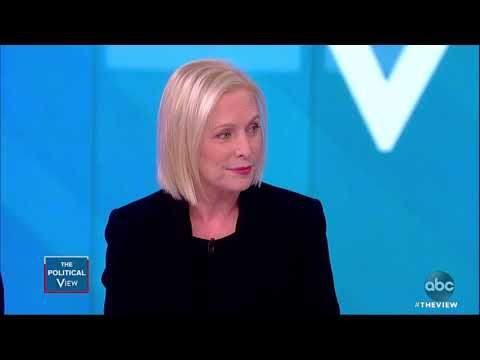 Sen. Gillibrand Talks New Book And If She's Running in 2020