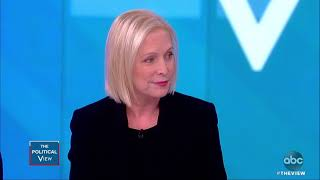 Sen. Gillibrand Talks New Book And If She