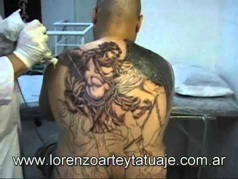 tattoo arcangel miguel