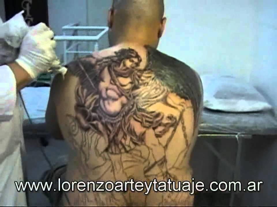 Tattoo Arcangel Miguel Youtube