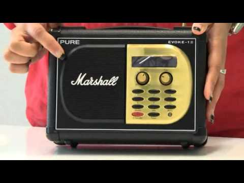 PURE EVOKE1S Marshall Portable Digital and FM Radio