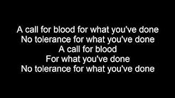 (LYRICS) Hatebreed - A Call For Blood