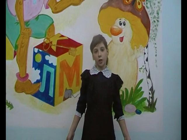 Изображение предпросмотра прочтения – ЕлизаветаШелемба читает произведение «Лебедь, Рак и Щука» И.А.Крылова