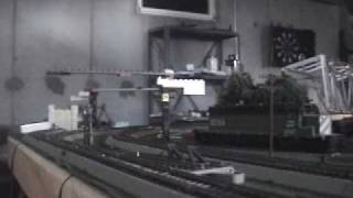 My new* HO scale Amtrak Atlas AEM-7 with pantographs and catenary wires!!!!