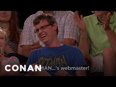 Audience Member Theme Songs: Batman's Webmaster Edition  - CONAN on TBS