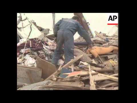 RUSSIA: SAKHALIN ISLAND EARTHQUAKE: SEARCH FOR SURVIVORS UPDATE