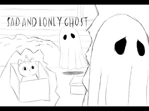 xmass ghost alone ghost lonly ghost