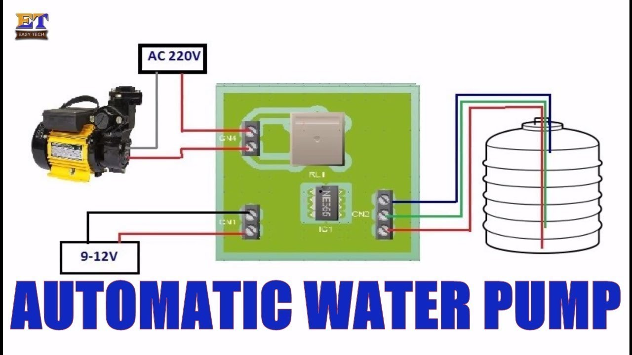 hight resolution of automatic water pump control testing