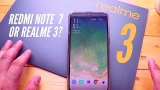 Redmi Note 7 vs RealMe 3 at realme 3 Launch