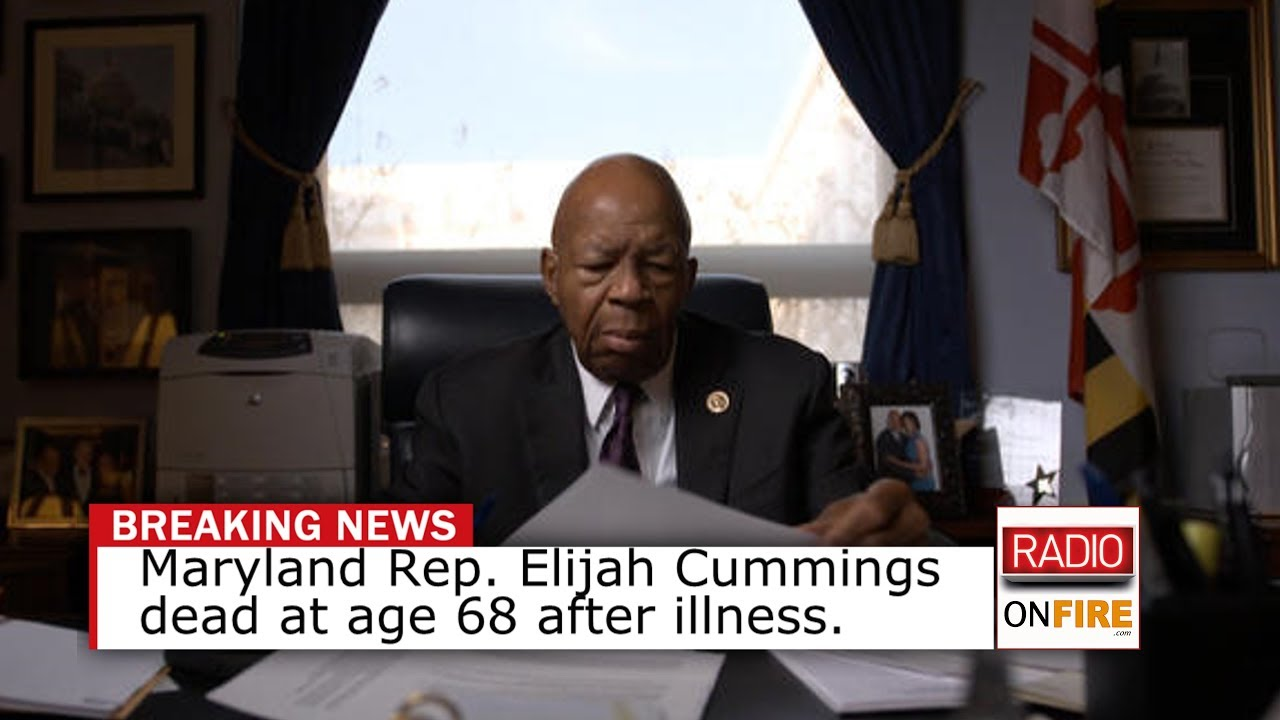 Rep. Elijah Cummings, Democratic leader and regular Trump target, dies at 68