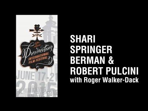 Shari Springer Berman and Roger Pulcini with Roger Walker Dack