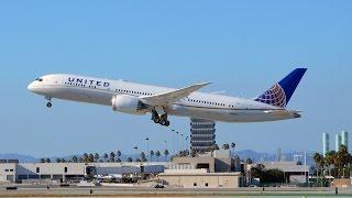 United Airlines Boeing 787-9 [N38950] Inaugural Flight to Los Angeles