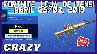 Loja Fortnite - Loja De Hoje 05/04/2019 Novo envelopamento