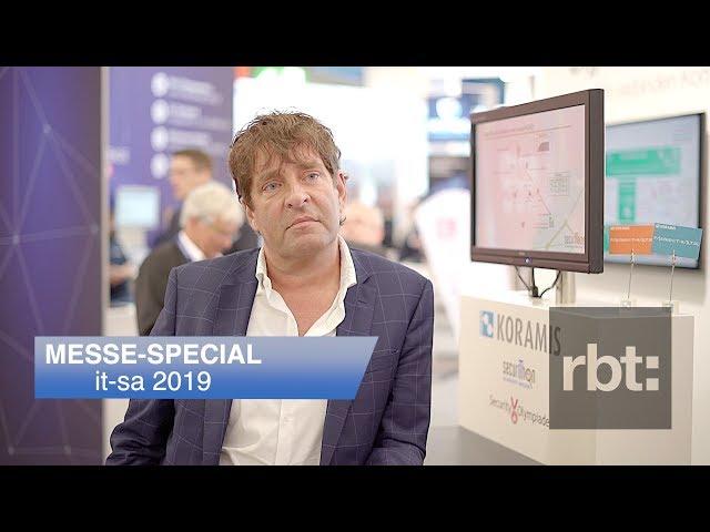 Interview mit Michael Krammel, KORAMIS GmbH // it-sa 2019