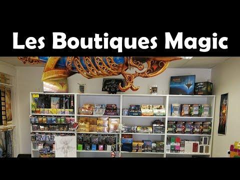 Les boutiques Magic, l'envers du décor - Avec William de Quartier Geek