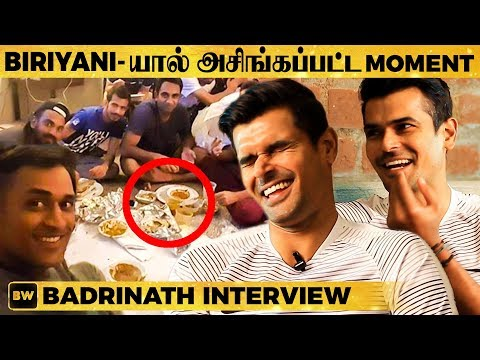 Real Angry Dhoni & Asingapatta Moment - Cricketer Badrinath Reveals all BIG secrets | EN 42