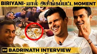 Real Angry Dhoni & Asingapatta Moment - Cricketer Badrinath Reveals all BIG secrets   EN 42