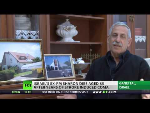 RT & BBC: Ex Israeli PM Ariel Sharon Dies Aged 85
