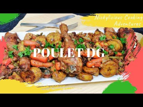 🟩🟥🟨-poulet-dg-//african-food-//-recette-facile-et-rapide