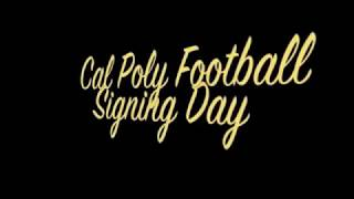 Cal Poly Football Early Signees Video Highlights