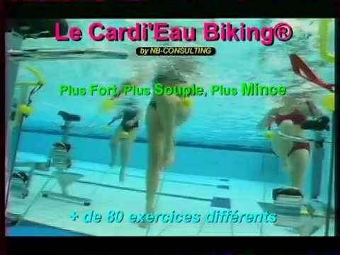 aquabike vélo aquatique cardieau.com aqua bike