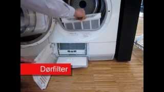 Electrolux Inspiration tørretumbler kondens med varmepumpe - problemer med tørring-rengøring.wmv