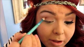 bh cosmetics cranberry smokey eye makeup tutorial