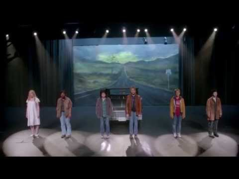 "Supernatural 200th ep. ""FanFiction"" Musical Scene -""Carry On My Wayward Son"" [HD] [cc]"