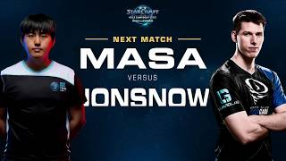 MaSa vs JonSnow TvZ - Group C - WCS Challenger NA Season 3 - StarCraft II