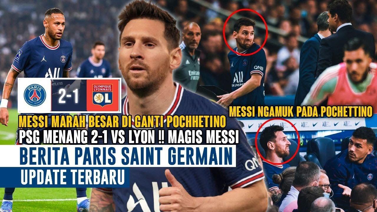 Download MARAH BESAR❗Messi Ngamuk Diganti Pochettino 😡 PSG Menang 2-1 🔥 Magis Messi 😍 Berita PSG Terbaru 🔴