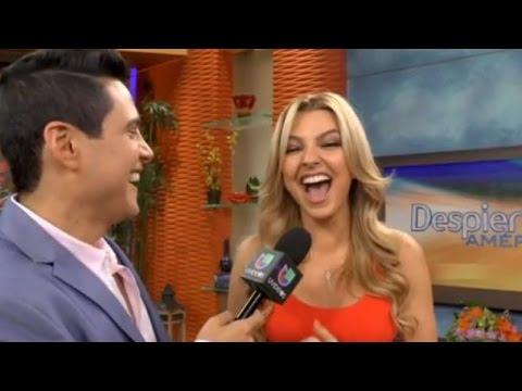 Marjorie no aguantó la risa al hablar del video sexual de David Zepeda