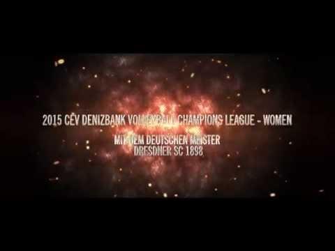 Dresdner SC vs Dinamo Moskau in der Champions League
