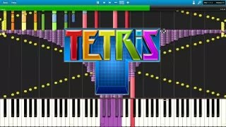 [Black MIDI] Synthesia - Tetris Theme A ~50,000 note