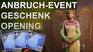 Destiny 2: Anbruch Event Geschenke Opening #017 (Deutsch/German)