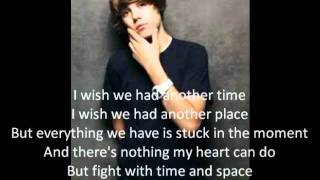 Repeat youtube video Justin Bieber Stuck in the Moment Instrumental with lyrics