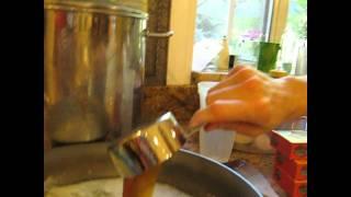 Kitchen Of Chaos Junior: Orange Roughy In Honey Garlic Sauce